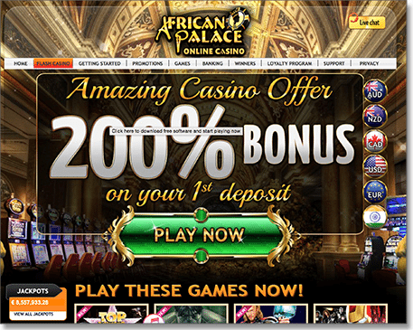 Avoid African Palace Casino