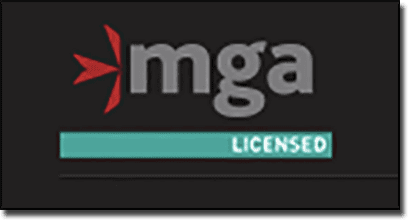 Malta Gaming Authority license logo for online casino