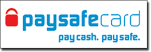 Paysafecard pre-paid deposits for real money online gambling