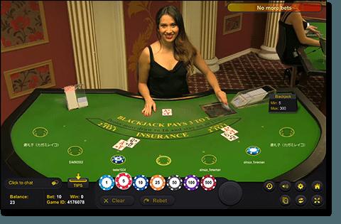 Live Dealer Girl