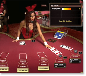 Playboy Live Dealer Blackjack