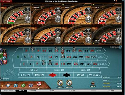 Play Roulette Multi-Wheel at Royal Vegas Casino